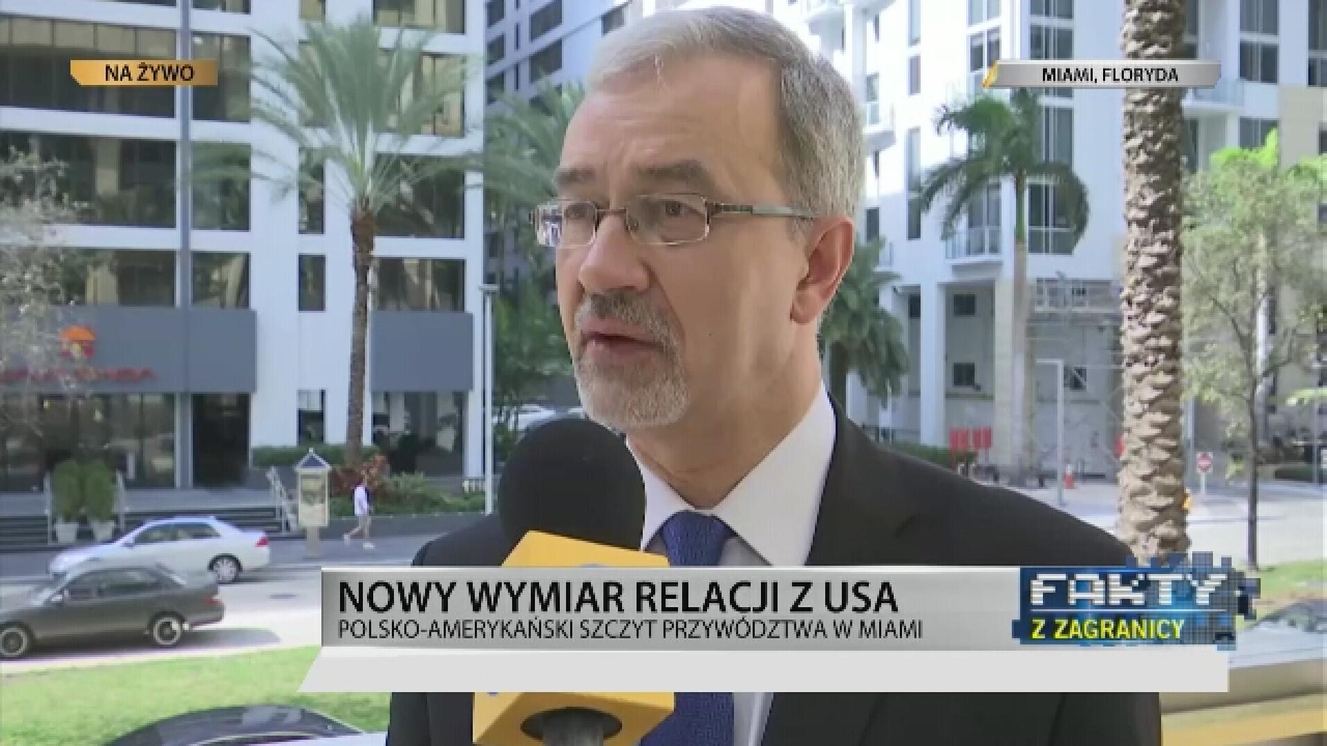 """TVN24bis: """"Prezydent Duda: handel z USA nabiera znaczenia"""""""