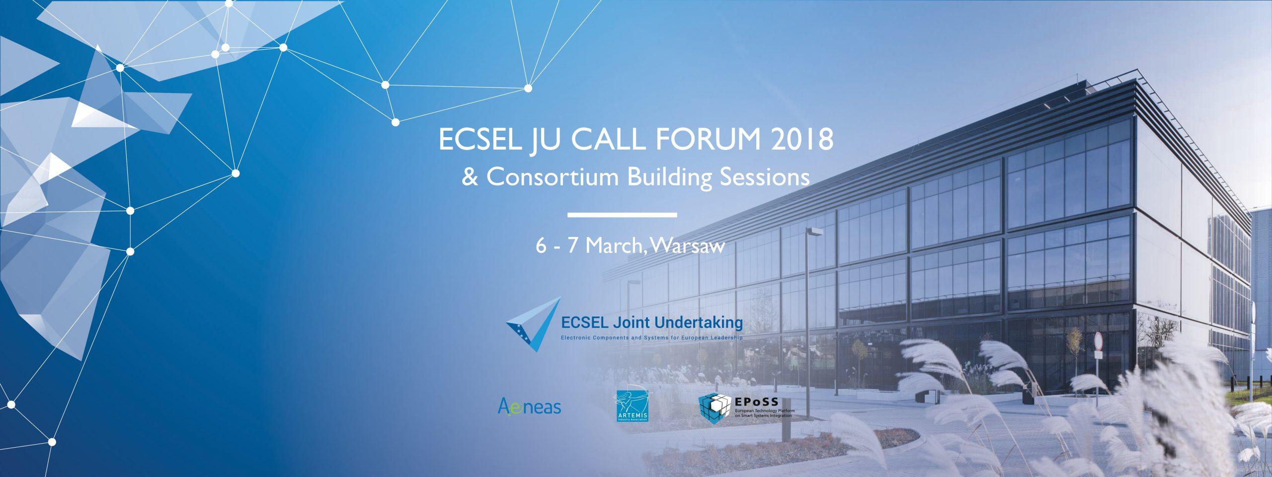 Zapraszamy na ECSEL Call Forum 2018