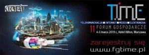 Sieci 5G dla przemysłu 4.0 – 11 Forum Gospodarcze Time 2019
