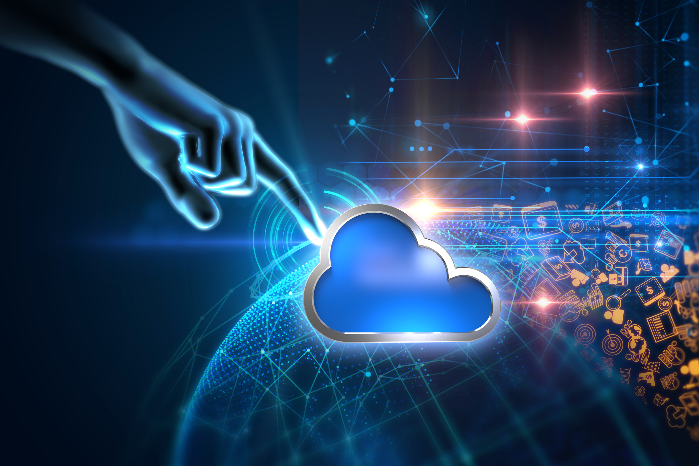 Sekcja start-upów w Cloud Community Europe