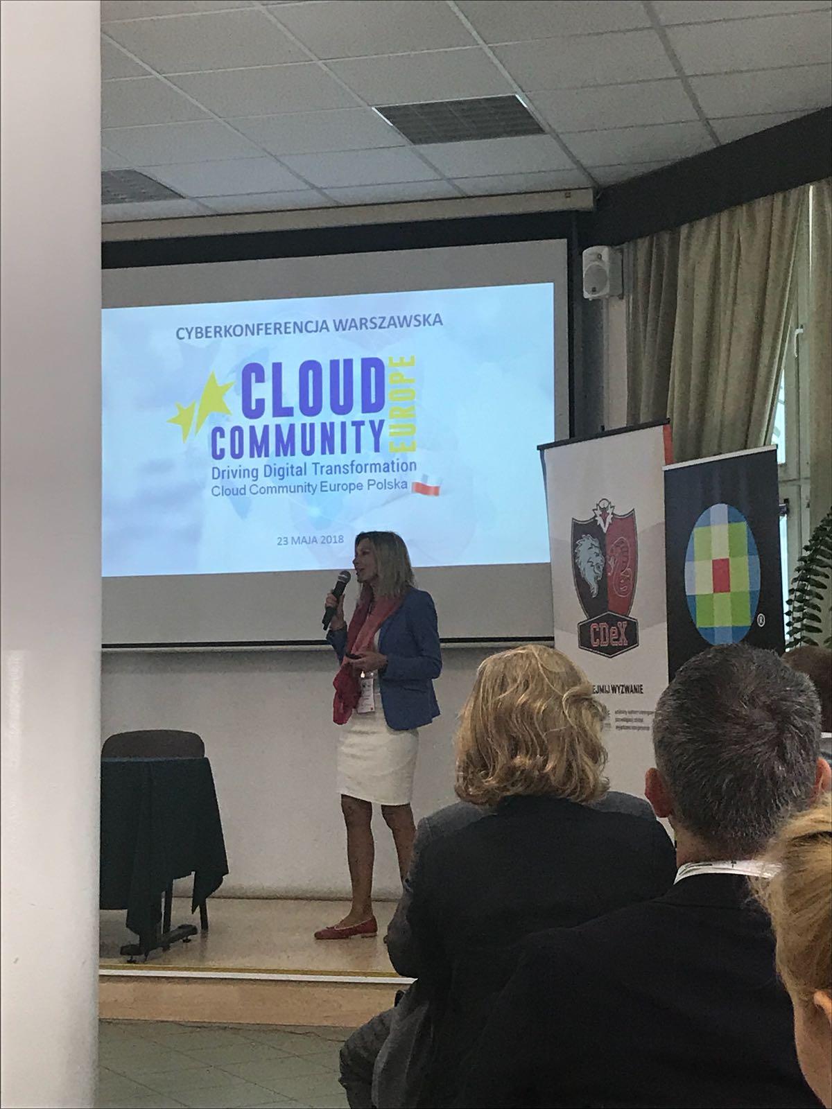 Cloud Community Europe Polska na III edycji Cyberkonferencji Warszawskiej