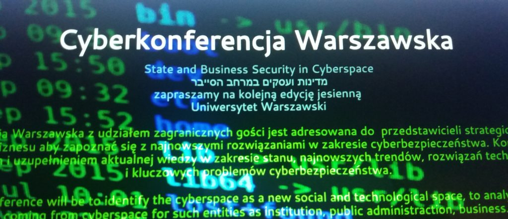 Warsaw Cyberkonference już 25 czerwca na WSZ!
