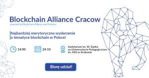 BLOCKCHAIN ALLIANCE CRACOW 2018 JUŻ 24 PAŹDZIERNIKA!